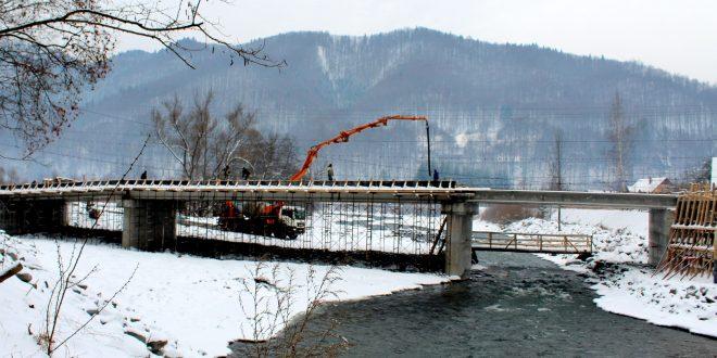 podul peste mures spre iod tot mai aproape de finalizare