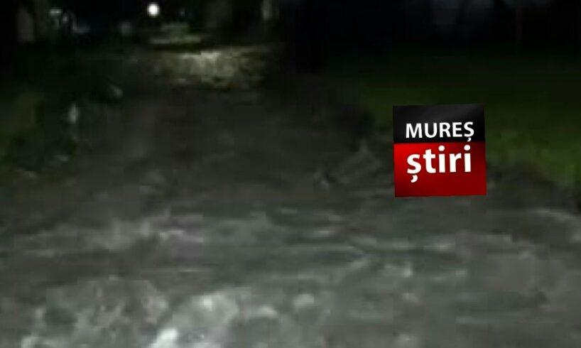 acum inundatii in mai multe gospodarii din mures foto