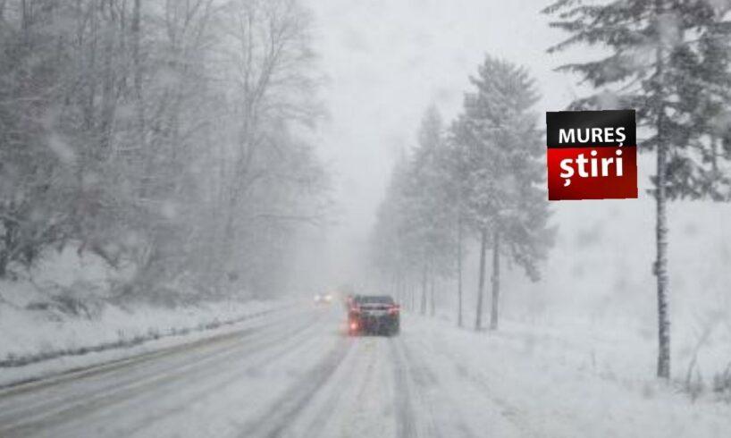 atentie soferi circulatie in conditii de iarna pe dn15 si dn13a hr