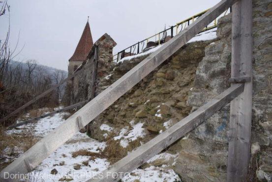 fortificatiile cetatii sighisoarei scanate laser pentru a se evita precedentul de la biserica din rotbav