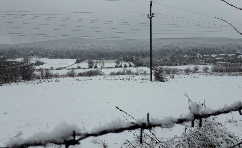 alte patru localitati harghitene au ramas partial fara curent din cauza vantului si ninsorii