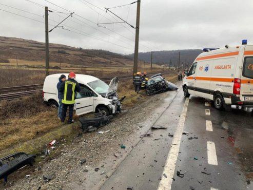 patru raniti in accidentul de la mureni