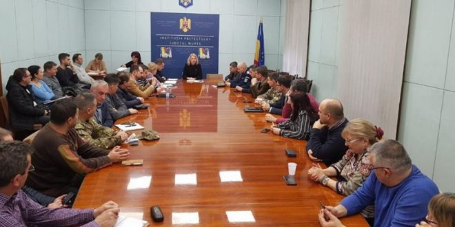 comitetul judetean pentru situatii de urgenta convocat de prefectul mara toganel