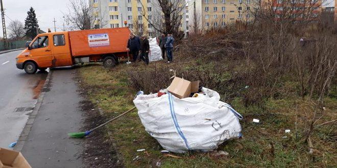 targu mures politia locala cu ochii pe cetatenii care arunca deseuri in zona baneasa