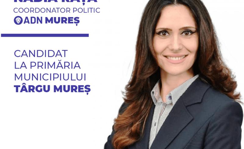 alternativa pentru demnitate nationala si a desemnat candidatul la primaria tg mures