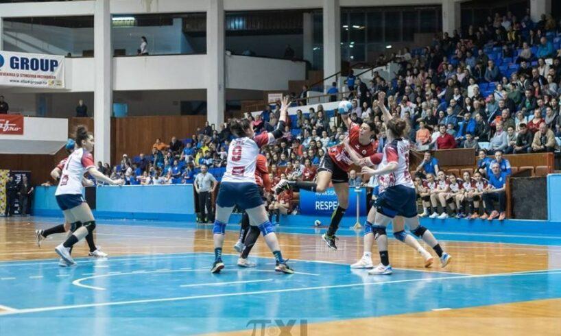derby nedecis la handbal feminin in divizia a