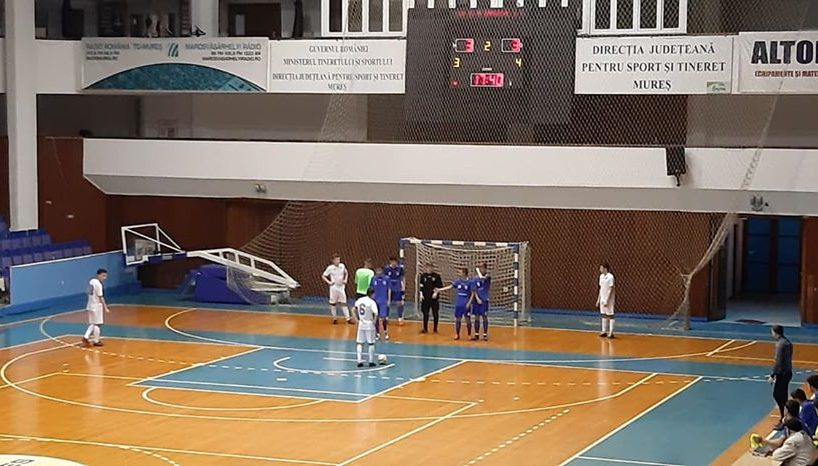 cupa romaniei la futsal optimi de finala