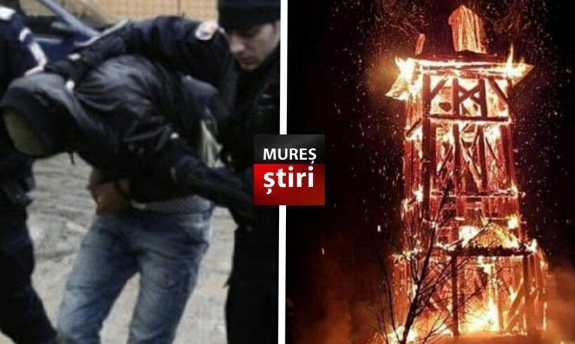 ultima ora tanar retinut pentru incendierea clopotnitei prejudiciu de 50 000 de euro video