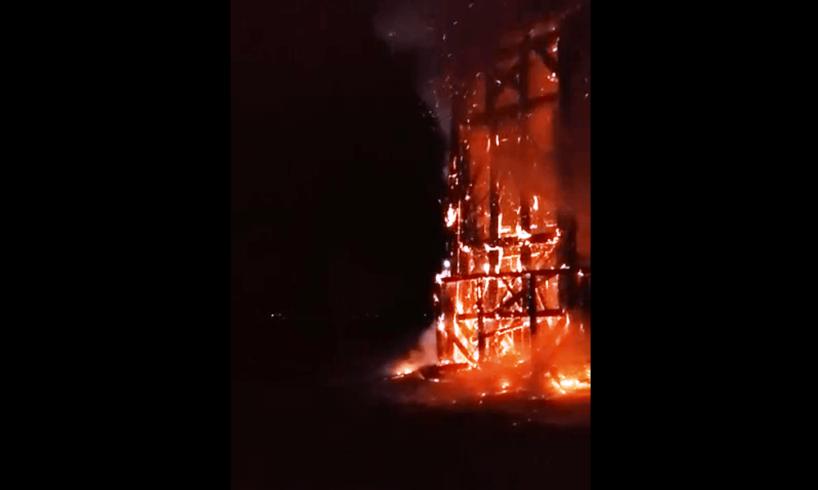 muresean retinut pentru incendiere