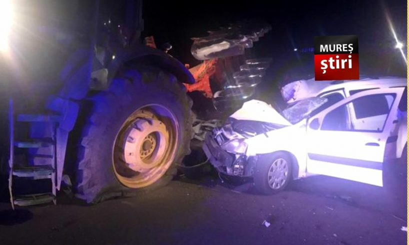 azi victima prinsa sub un tractor dupa impactul cu o masina