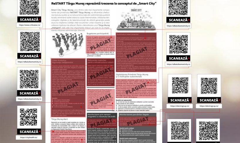 restart tirgu mures plagiat sau compilatie