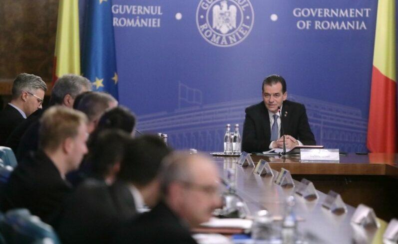 la parlament urmeaza sa fie stabilit programul investirii cabinetului orban doi