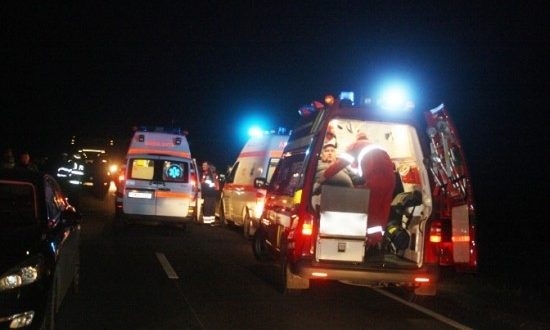 accident grav pe strada podeni