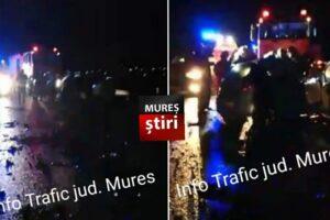 acum accident mortal dupa impactul dintre un tir si o masina pe dn15 tirgu mures reghin