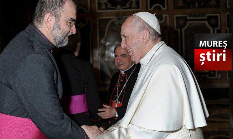 papa francisc l a numit pe mons dr kovacs gergely arhiepiscop
