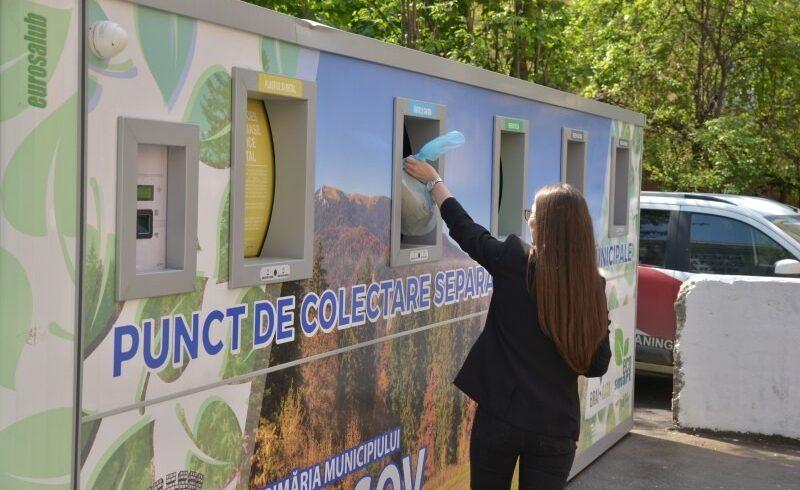 peste 100 de puncte de colectare a deseurilor reciclabile la brasov