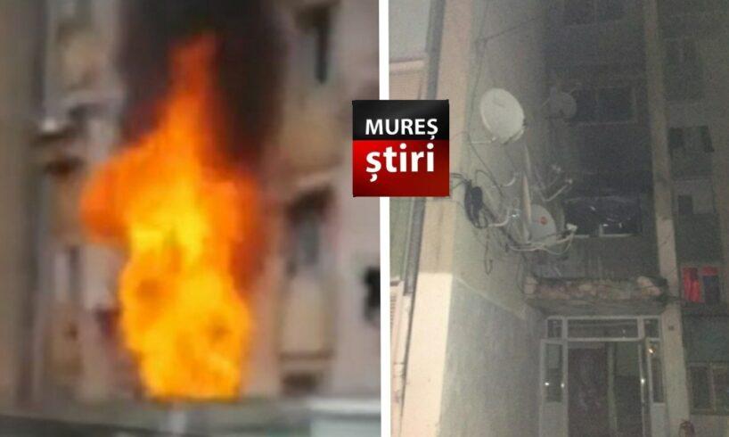 alerta incendiu intr un bloc soldat cu 13 victime si 34 mureseni evacuati foto
