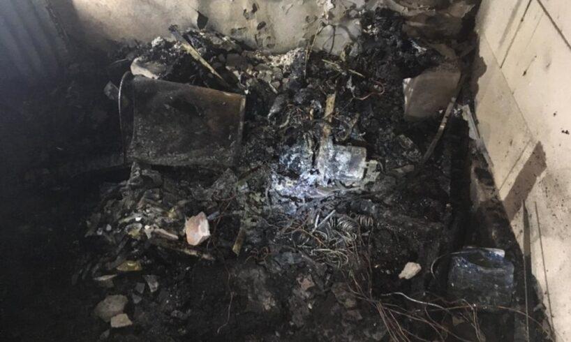 34 de oameni dintre care 4 copii sunt la spital dupa un incendiu care a izbucnit in tarnaveni