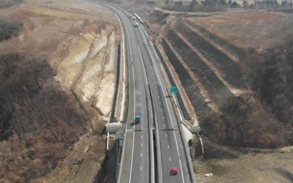 primii kilometri de autostrada din 2020