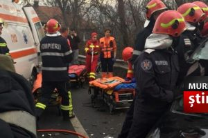 un sofer beat a provocat un accident in lant soldat cu mai multe victime dintre care un copil de 9 ani