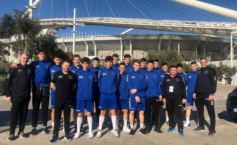 handbalistii tricolori remiza si victorie in prima zi la jocurile mediteraneene