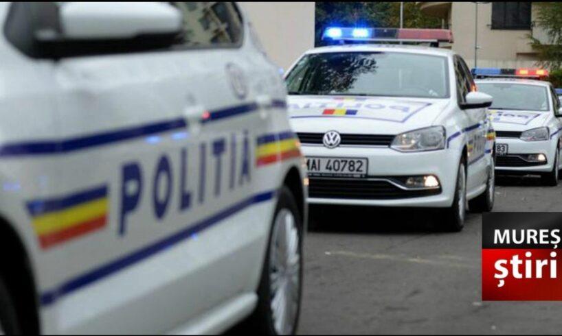 politia prins la volan fara permis in santana de mures