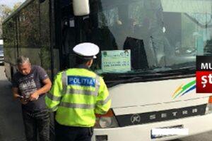 politia actiunea truck bus pentru verificarea activitatilor de transport public de persoane si de marfuri