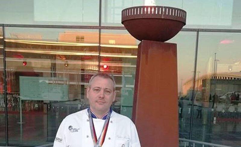 un cofetar din sfantu gheorghe medaliat cu argint la olimpiada culinara de la stuttgart