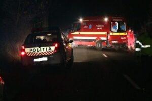 masina rasturnata in ernei soferul depistat baut de politisti