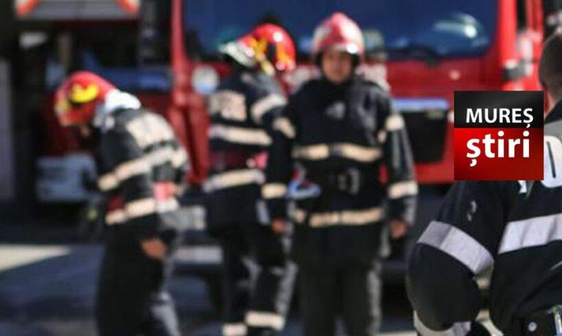 alerta la un bloc privind posibile scurgeri de gaz in tirgu mures