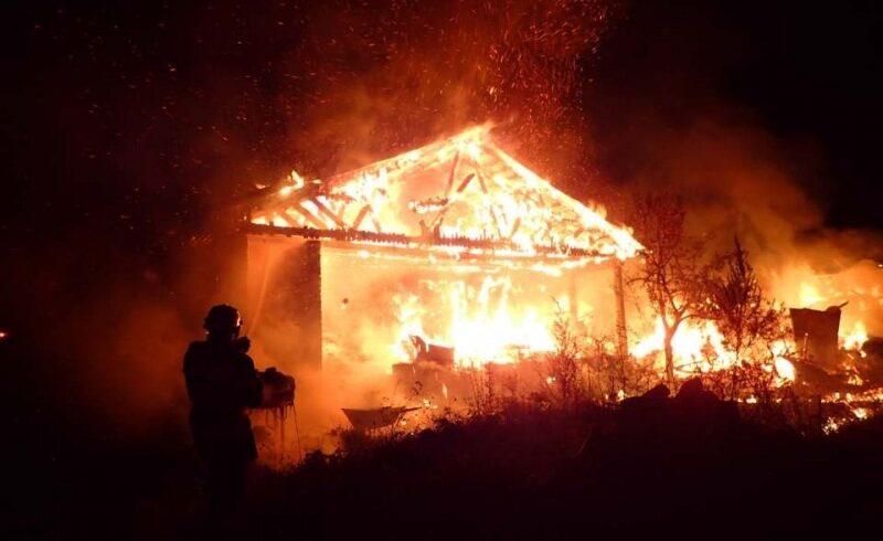 batrana decedata intr un incendiu la dobolii de sus cv