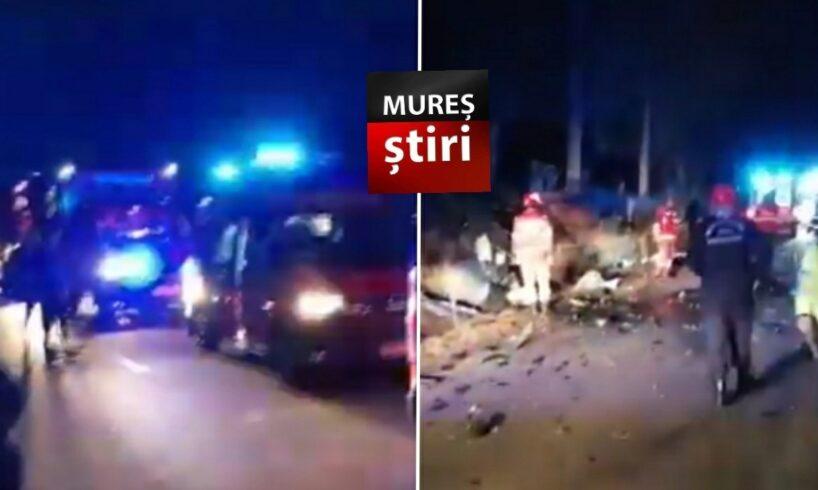 ultima ora imagini video de la cumplitul accident in care au murit doua persoane pe dj 106c sb