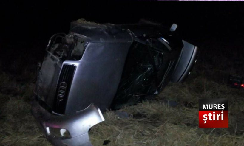 ultima ora accident grav cu 3 victime dupa ce s au rasturnat cu masina