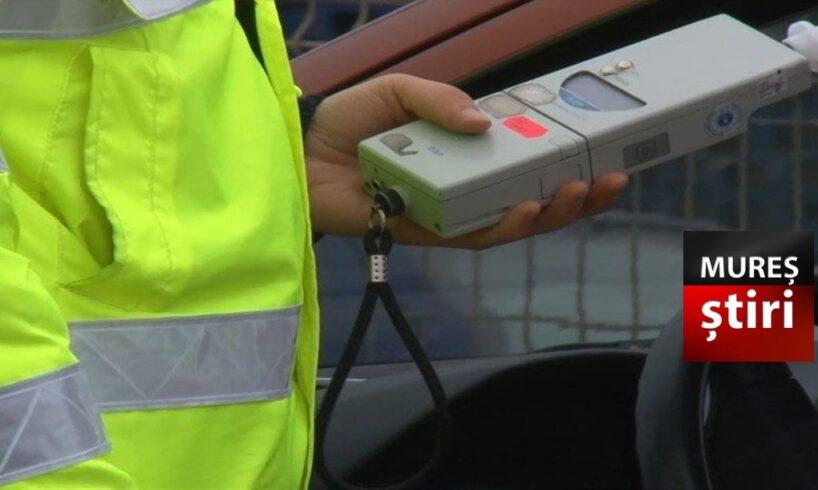 politia patru mureseni prinsi la volan sub influenta alcoolului cercetati penal