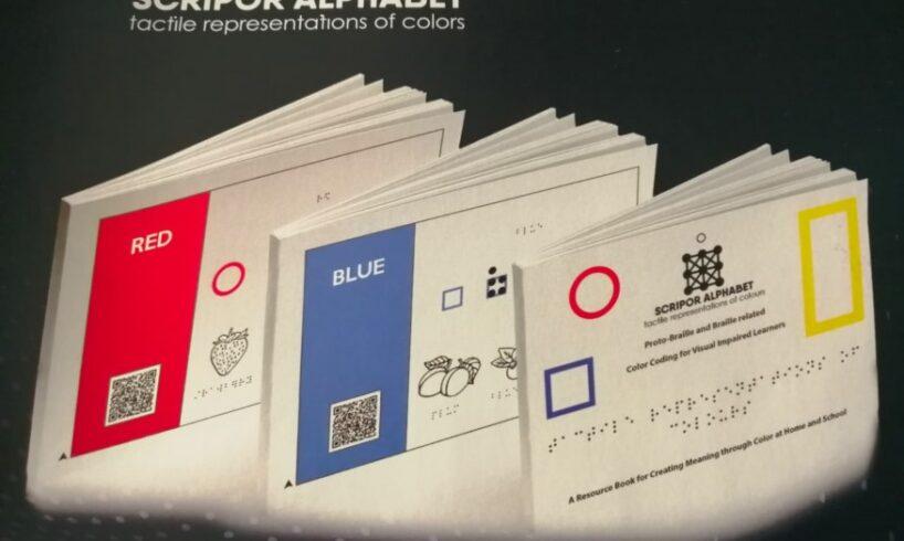 in premiera mondiala alfabet al culorilor pentru nevazatori