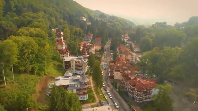 video muresul in varianta pentru turisti