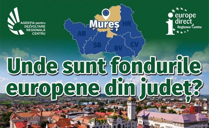 la tg mures va avea loc o dezbatere privind impactul fondurilor europene in regiunea centru