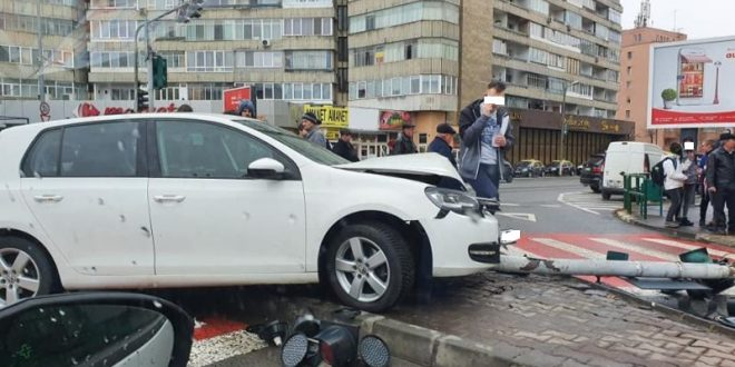 foto accident in intersectia fortuna