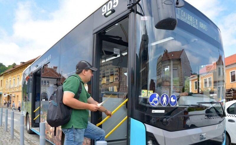 mijloacele de transport din brasov sunt zilnic dezinfectate