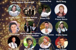 spectacol folcloric martisoare muzicale 62 de ani de radio tg mures