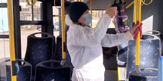 ultima ora autobuzele din mures dezinfectate pentru prevenirea coronavirusului