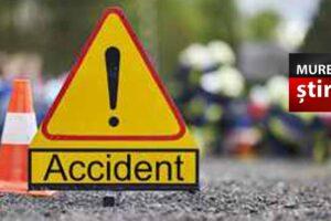 acum accident cu doua autocamioane dn15 tirgu mures reghin