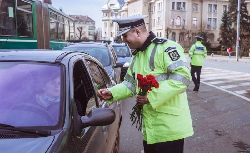 soferitele vor fi oprite maine in trafic de politia rutiera