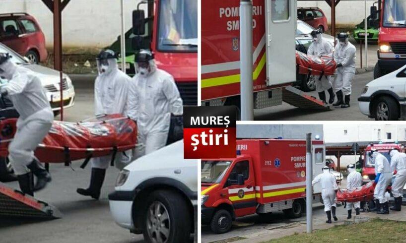prefect mures pacient suspect de coronavirus din tirgu mures transportat la spital