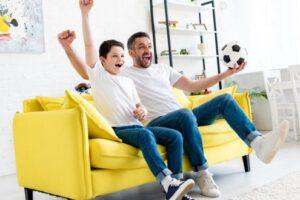 4 idei de activitati sportive pentru un tata si copilul adolescent