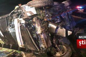 tragedie un tanar a murit dupa ce s a rasturnat cu masina pe dn14 sighisoara medias foto