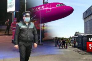 cateva sute de persoane au aterizat pe aeroportul transilvania