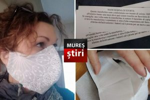exclusiv o mureseanca face si doneaza masti de protectie in italia foto