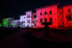 palatul-cotroceni-a-fost-iluminat-in-culorile-drapelului-italian