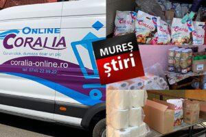 coralia-online-si-echipa-mures-stiri-au-donat-alimente-pentru-sute-de-copii-din-16-locatii!-foto